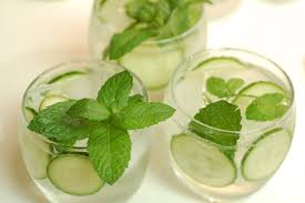 cucumber.mint.water