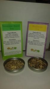 Herbal teas for the immune system