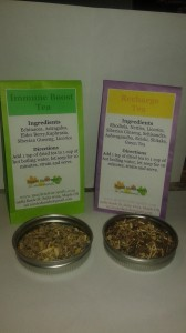 Herbal teas for the immune system